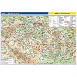 Česko–příručnívlastivědnámapa1:1,1mil./obrysovámapa/46x32cm-neuveden