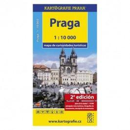 Praga-Mapadecuriosidadesturísticas/1:10tis.-neuveden