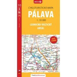 Pálava-Lednicko-valtickýareál-cykloturistickámapač.10/1:55000-neuveden