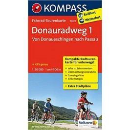 Donauradweg1,VonDonaueschingennachPassau7009NKOM-neuveden