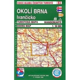 OkolíBrna,Ivančicko-Turistickámapa-ediceKlubčeskýchturistů83-neuveden