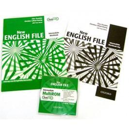 NewEnglishFileIntermediateWorkbookwithAnswerBookletandMultiROMPack-OxendenClive
