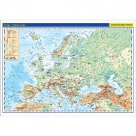 Evropa-příručnífyzická/politickámapa1:17mil./42x29,7cm-neuveden