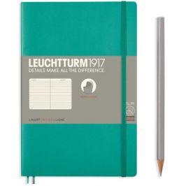 Zápisník Leuchtturm1917 Paperback Softcover Emerald linkovaný